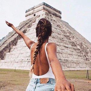 Un sueño llegar a Chichén Itzá!