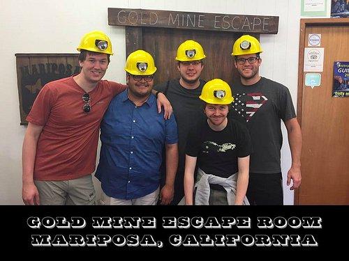 Come Explore the Gold Mine Escape Room!