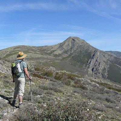 Ascensión por la cara sur al Pico de Ocejón.