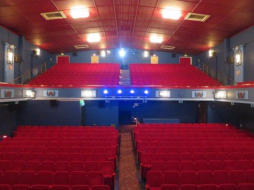 Our wonderful 1920s main auditorium!