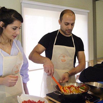 Como fazer um bom refogado para a cataplana? | How to cook a good stew for the cataplana?