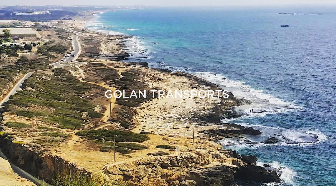 Golan Transports - site de Rosh Hanikra, simplement beau