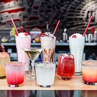 Cocktails available at our D.C. location