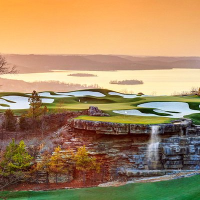 The Arnold Palmer Practice Facility at Top of the Rock