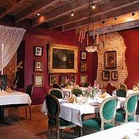 Latil's Landing Red Dining Room