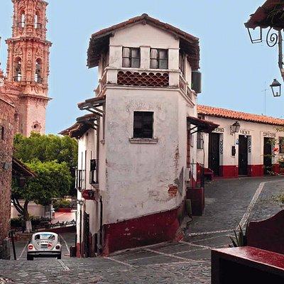 Beautiful corner in Taxco...