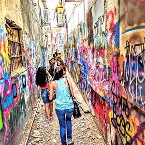 the best graffiti tour in tel aviv