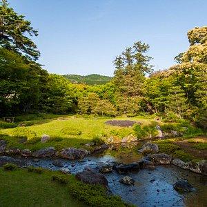 朝の無鄰菴、朝散歩に気持ちいい. Enjoy a fresh morning at Murin-an garden