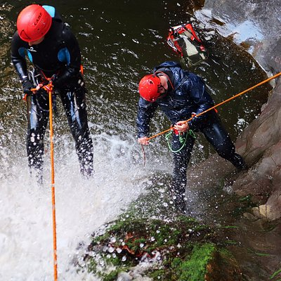 A fantastic canyoning day into the waters of RIo Caddaris, Dorgali.