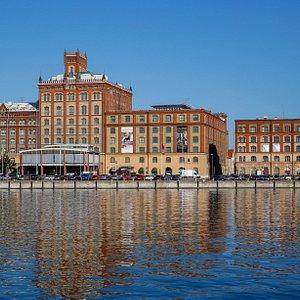 Ångkvarnen där Kalmar läns museum är beläget.