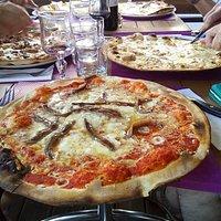 pizza nicoise grande