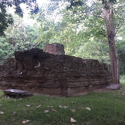 Ancient Stupa built in the old city limits of Anuradhapura sacred city... Believed to be a Buddh