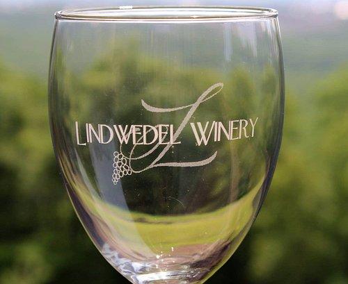 Wine Glass with logo