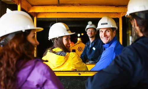 Daily tours of the underground led by informative and engaging interpreters