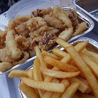Frittura e patatine