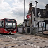 2-hourly Grant Palmer bus service No 34 stops outside Ridgmont HC; Ampthill <-> MK Central Mon-S
