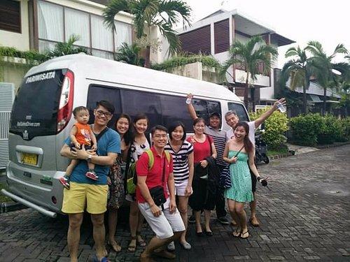 Happy Bali Safest Driver clients