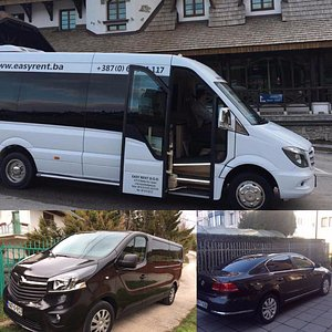 Cars , vans and buses . Shuttle and tours .