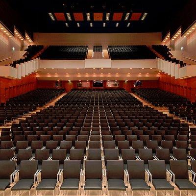 Philharmonie Mercatorhalle - Großer Saal, 1.742 Sitzplätze
