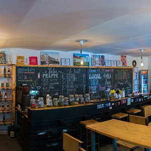the coolest coffee shop / record store in Timișoara
