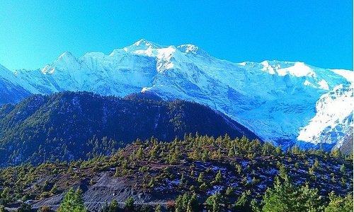 This is from Annapurna Himalaya during Annapurna Circuit Treks