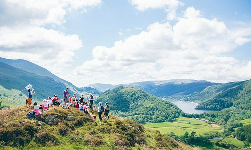 Lake District guided walk on High Rigg Fell