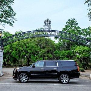 Riverbend Charters Luxury Cadillac Escalade ESV