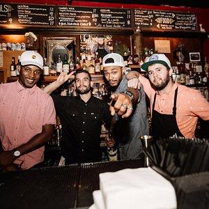 Skillful bartenders