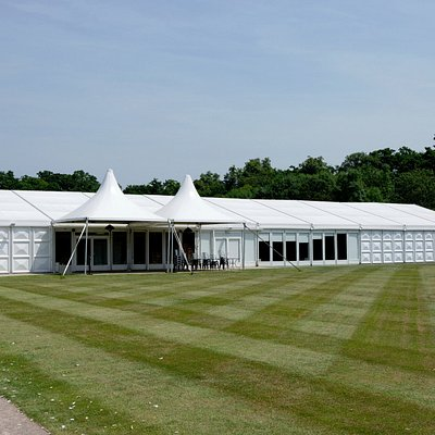 The Walled Garden, Luton Hoo Estate - Events Marquee