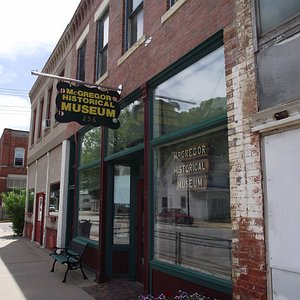 McGregor Historical Museum at 256 Main St.