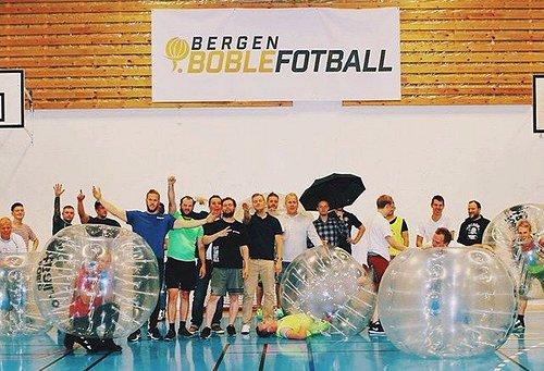 Bergen Boblefotball // Bergen Bubblefootbal
