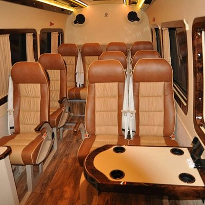 13 seat Mercedes sprinter for rent