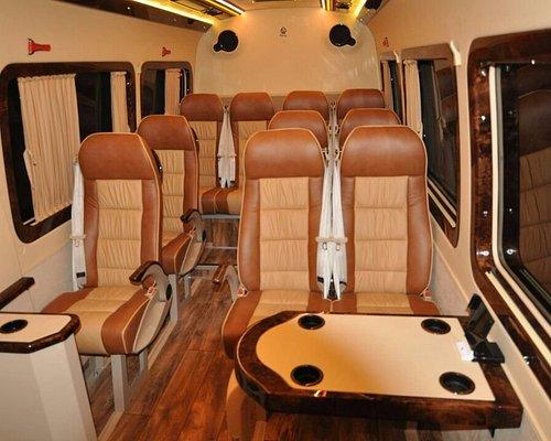 13 seat Mercedes sprinter for rent