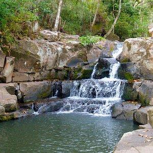 Waterfall in Miraflor Natural Reserve