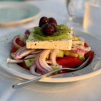 Greek Salad. DELICIOUS!!!