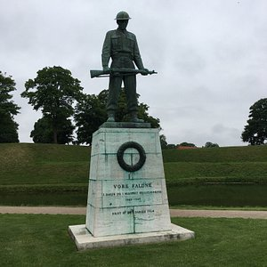 Vore Faldne statue