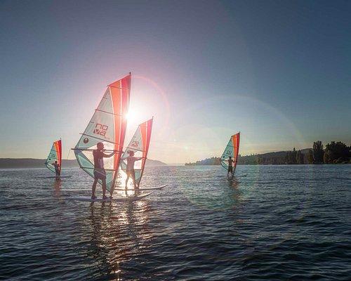 Windsurfen lernen an der Surfschule Bodensee