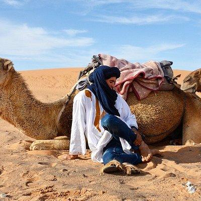 Our Camel ride in Merzouga desert