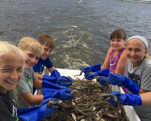 Whether crabbing, fishing or shrimping.....kids love it!