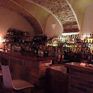 banco bar del The Duke.
