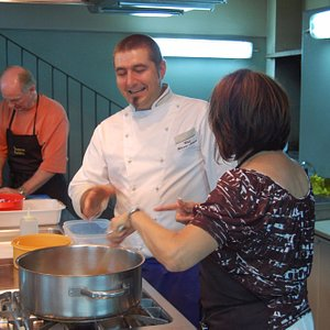 Our Cooking Classes are hands-on and are followed by a delicious lunch or dinner
