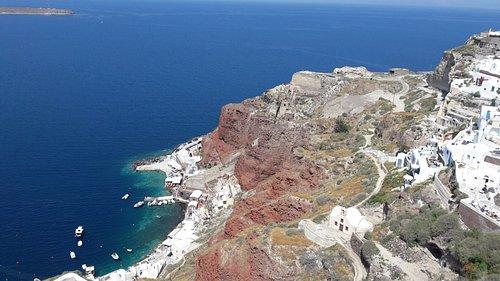 Вулканический остров...