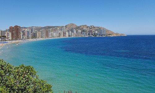 Stunning beach.