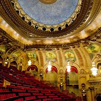 The Chicago Theatre - Balcony and dome