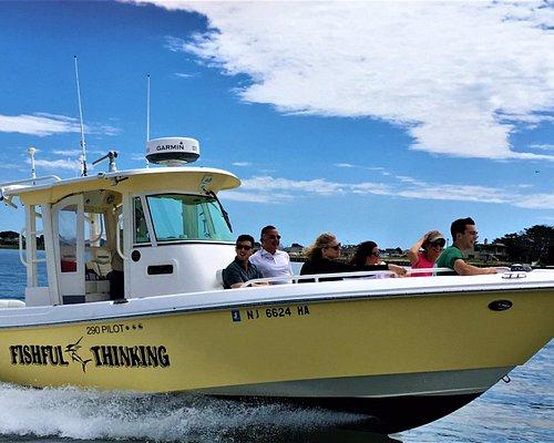 LBI Boat Tours cruising south on LBI bay
