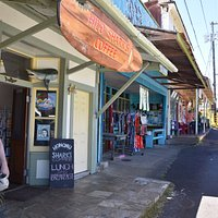The shopping strip. Check out all the shops to find something different