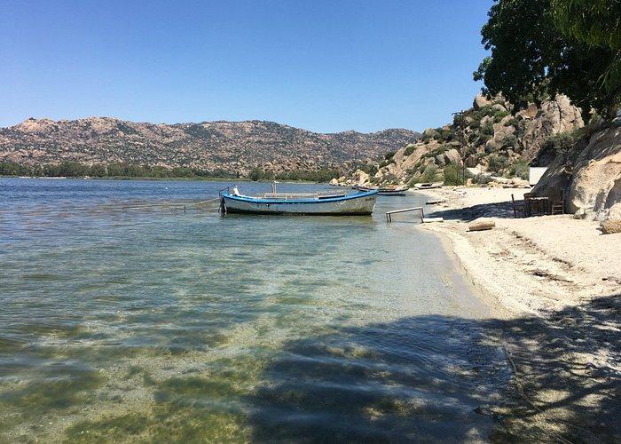 Our boat at Herakleia on Bafa,