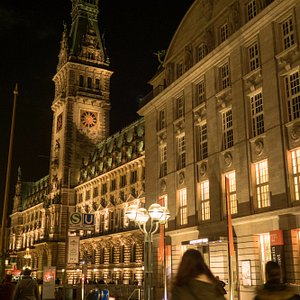 The Rathaus (Town Hall) where we meet for the start of the tour