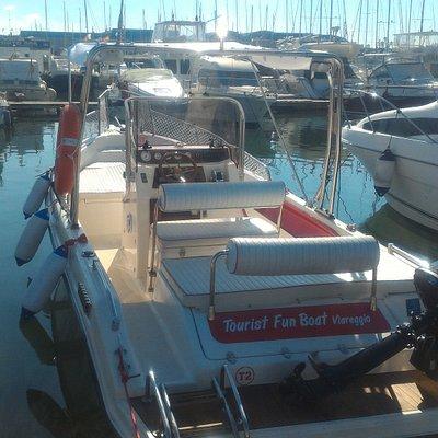 Tourist Fun Boat Viareggio