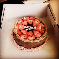 We can supply a bespoke ice cream cake for a special event